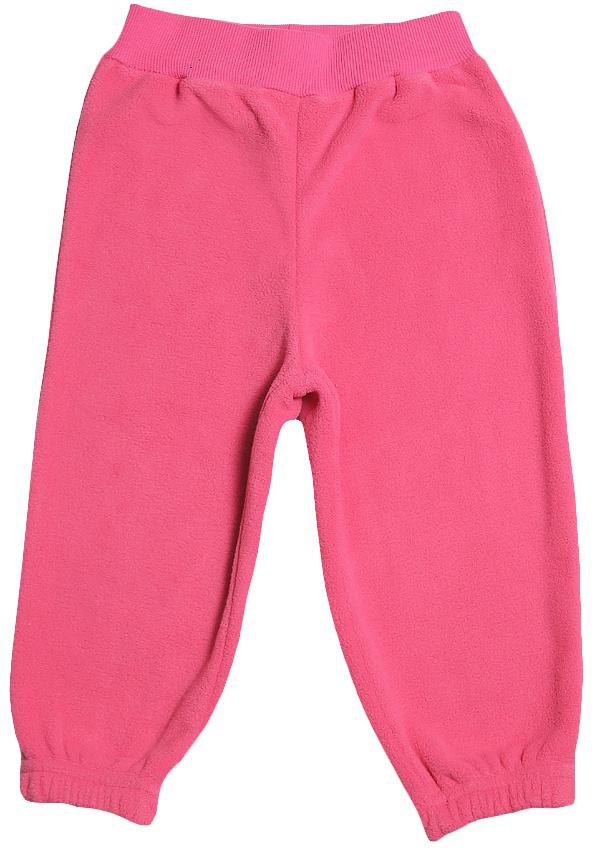 Штанишки для девочки Cherubino, цвет: розовый. CWB 7595. Размер 80CWB 7595Штанишки для девочки Cherubino выполнены из флиса. Низ брючин оформлен манжетами.
