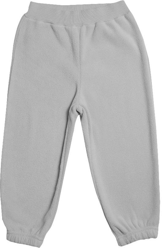 Штанишки для девочки Cherubino, цвет: серый. CWB 7595. Размер 86CWB 7595Штанишки для девочки Cherubino выполнены из флиса. Низ брючин оформлен манжетами.
