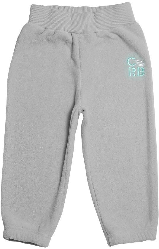 Штанишки для мальчика Cherubino, цвет: серый. CWB 7597. Размер 86CWB 7597Флисовые штанишки для мальчика Cherubino выполнены из флиса. Пояс дополнен резинкой. Спереди штанишки оформлены вышитым логотипом бренда.