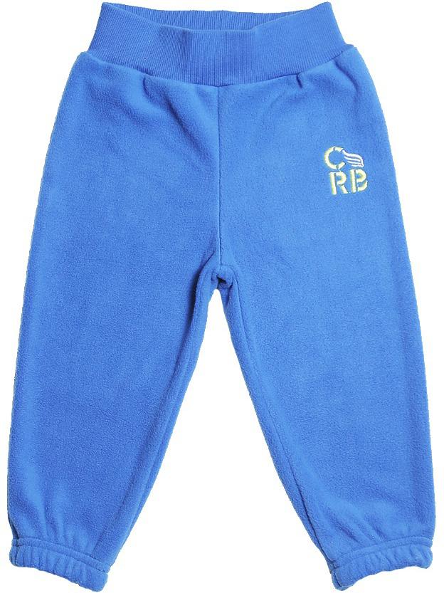 Штанишки для мальчика Cherubino, цвет: синий. CWB 7597. Размер 86CWB 7597Флисовые штанишки для мальчика Cherubino выполнены из флиса. Пояс дополнен резинкой. Спереди штанишки оформлены вышитым логотипом бренда.