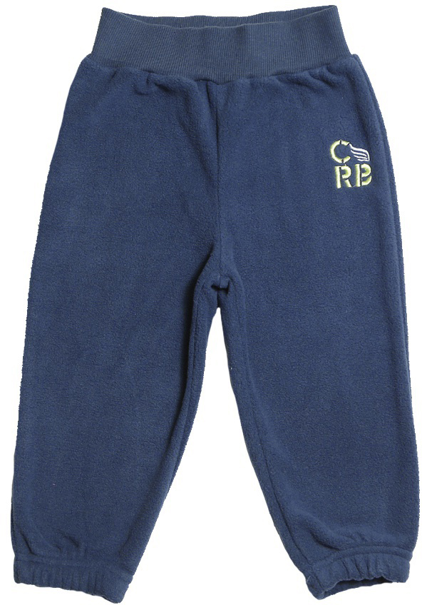 Штанишки для мальчика Cherubino, цвет: темно-синий. CWB 7597. Размер 80CWB 7597Флисовые штанишки для мальчика Cherubino выполнены из флиса. Пояс дополнен резинкой. Спереди штанишки оформлены вышитым логотипом бренда.