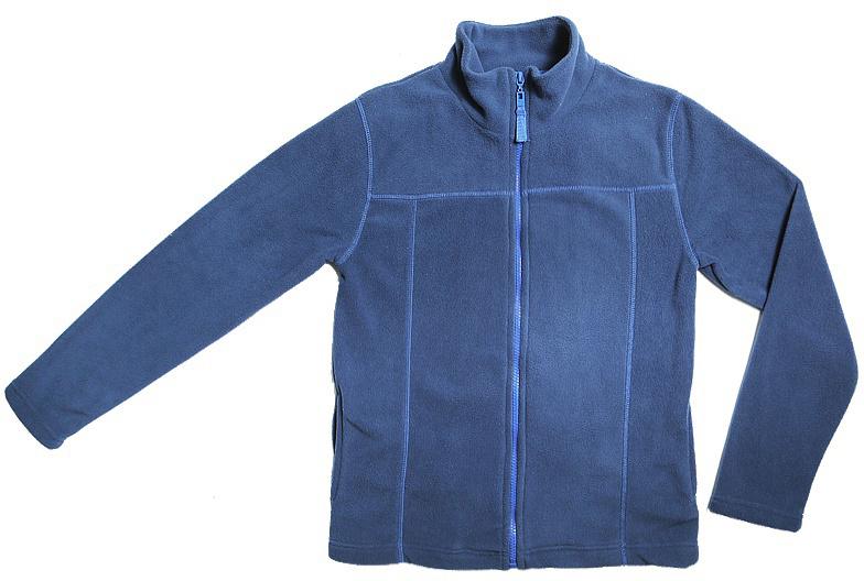Куртка для мальчика Cherubino, цвет: темно-синий. CWJ 61502. Размер 134CWJ 61502Куртка для мальчика флисовая. Гладкокрашенная с контрастными отстрочками.