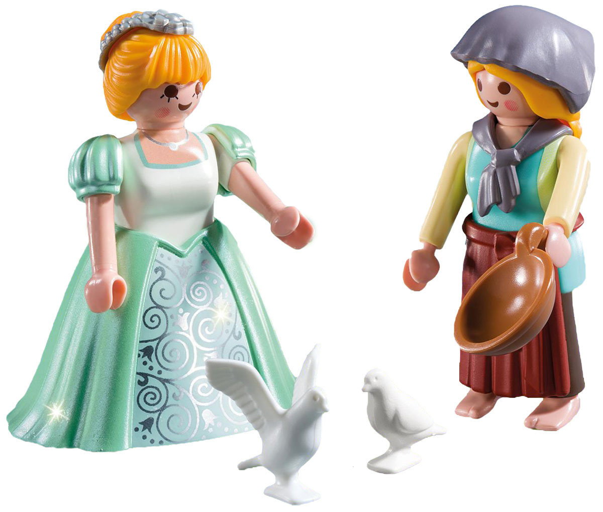 Playmobil Игровой набор Принцесса и служанка фигурки игрушки playmobil зоопарк стая фламинго