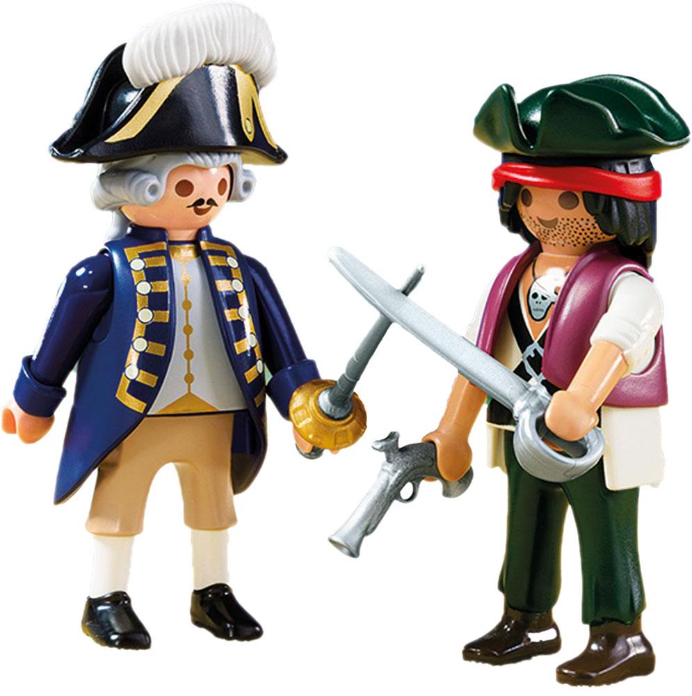Playmobil Игровой набор Пират и солдат
