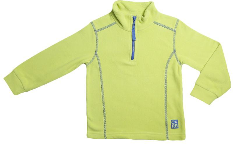 Джемпер для мальчика Cherubino, цвет: зеленый. CWK 61652. Размер 110CWK 61652Флисовая куртка для мальчика, гладкокрашенная, с контрастными отстрочками. Застегивается на короткую молнию.