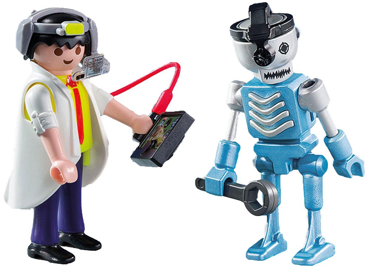 Playmobil Игровой набор Ученый с роботом playmobil® playmobil 5289 секретный агент мега робот с бластером