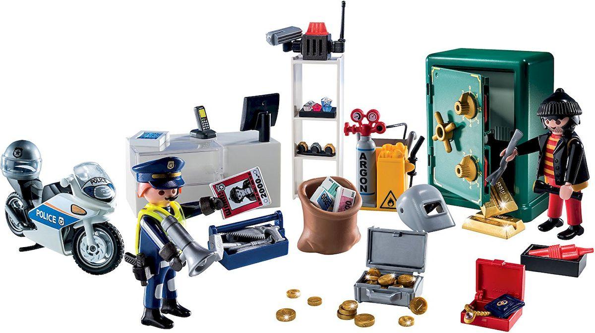 Playmobil Игровой набор-календарь Полицейская операция Украденные украшения - Игровые наборы