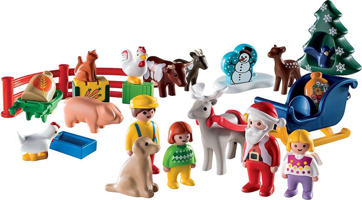 Playmobil Игровой набор-календарь Рождество на Ферме - Игровые наборы