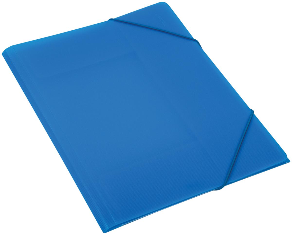 Proff Папка для бумаг Ultra на резинке формат A4 цвет синий03-0735Папка Proff. Ultra предназначена для бумаг формата A4. Документы внутри нее крепятся при помощи резинки. Папка приятного синего цвета, полупрозрачная. Изготовлена из высококачественного полипропилена.