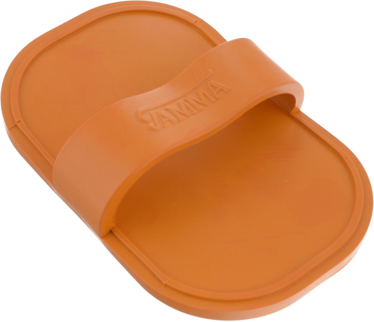 Щетка для животных Гамма, большая, цвет: оранжевый, 17 х 10,5 х 4,5 смЩг-15500_оранжевыйМассажная щетка для животных Гамма выполнена из качественного безопасного материала, не травмирующего кожу животного. Щётку удобно держать на руке с помощью специальной лямке.Компактный размер позволяет брать щетку с собой в дорогу. Размер щетки: 17 х 10,5 х 4,5 см.Длина зубчиков: 6 мм.