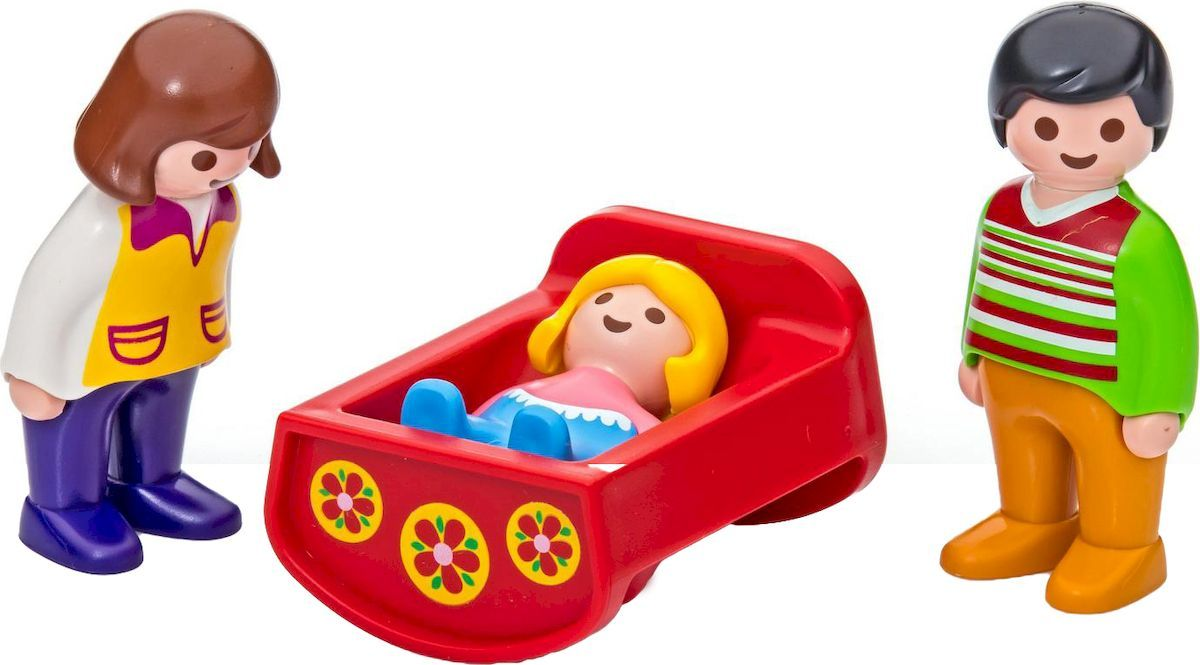 Playmobil Игровой набор Родители с люлькой фигурки игрушки playmobil зоопарк стая фламинго