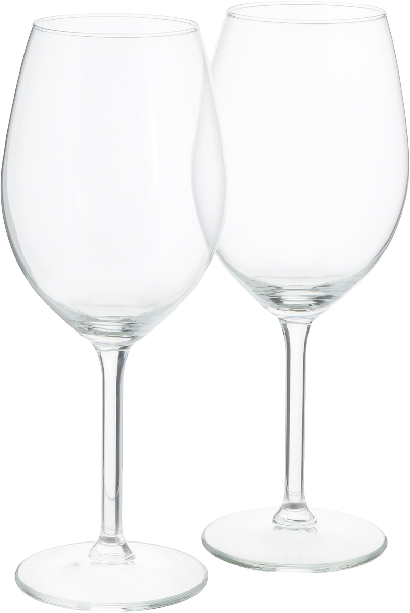 Набор бокалов для белого вина VacuVin, 400 мл, 2 шт синие бокалы