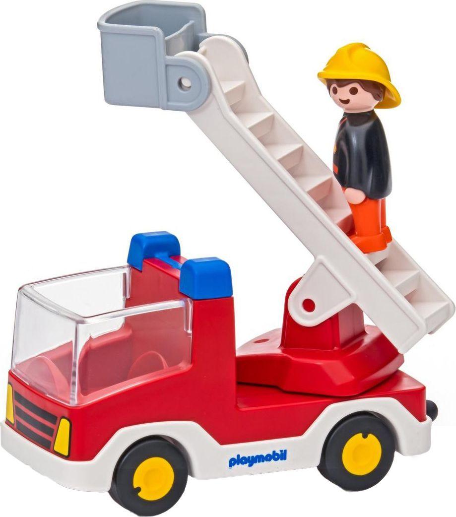 Playmobil Игровой набор Пожарная машина с лестницей машинки siku пожарная машина с лестницей