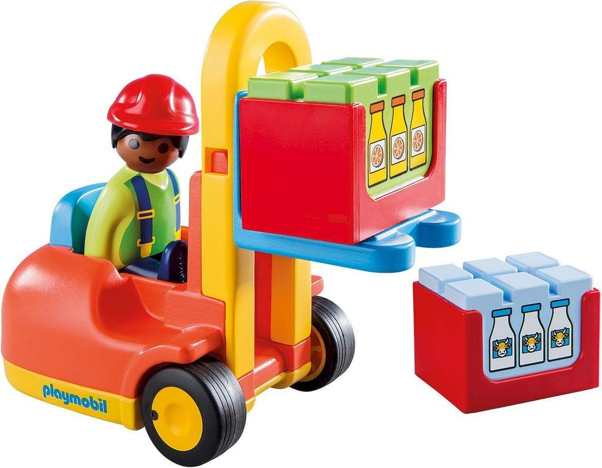 Playmobil Игровой набор Вилочный погрузчик playmobil игровой набор африка газели
