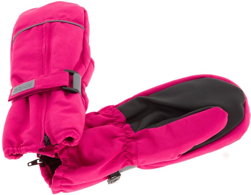 Варежки для девочек Reike, цвет: фуксия. RW18_bs fuchsia. Размер 5RW18_bs fuchsia