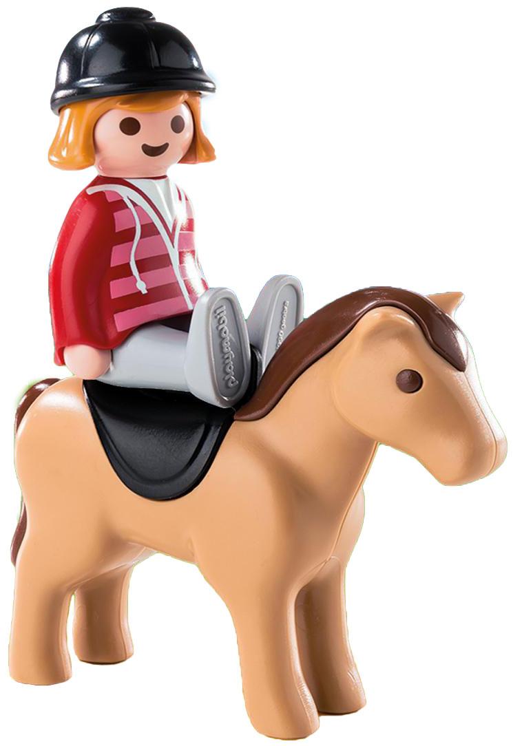 Playmobil Игровой набор Наездница с лошадью фигурки игрушки playmobil зоопарк стая фламинго