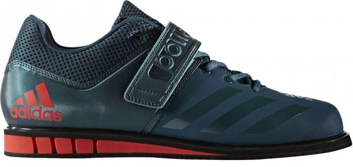 Штангетки мужские Adidas Powerlift.3.1, цвет: темно-синий. BA8014. Размер 7,5 (40) штангетки adipower weightlifting