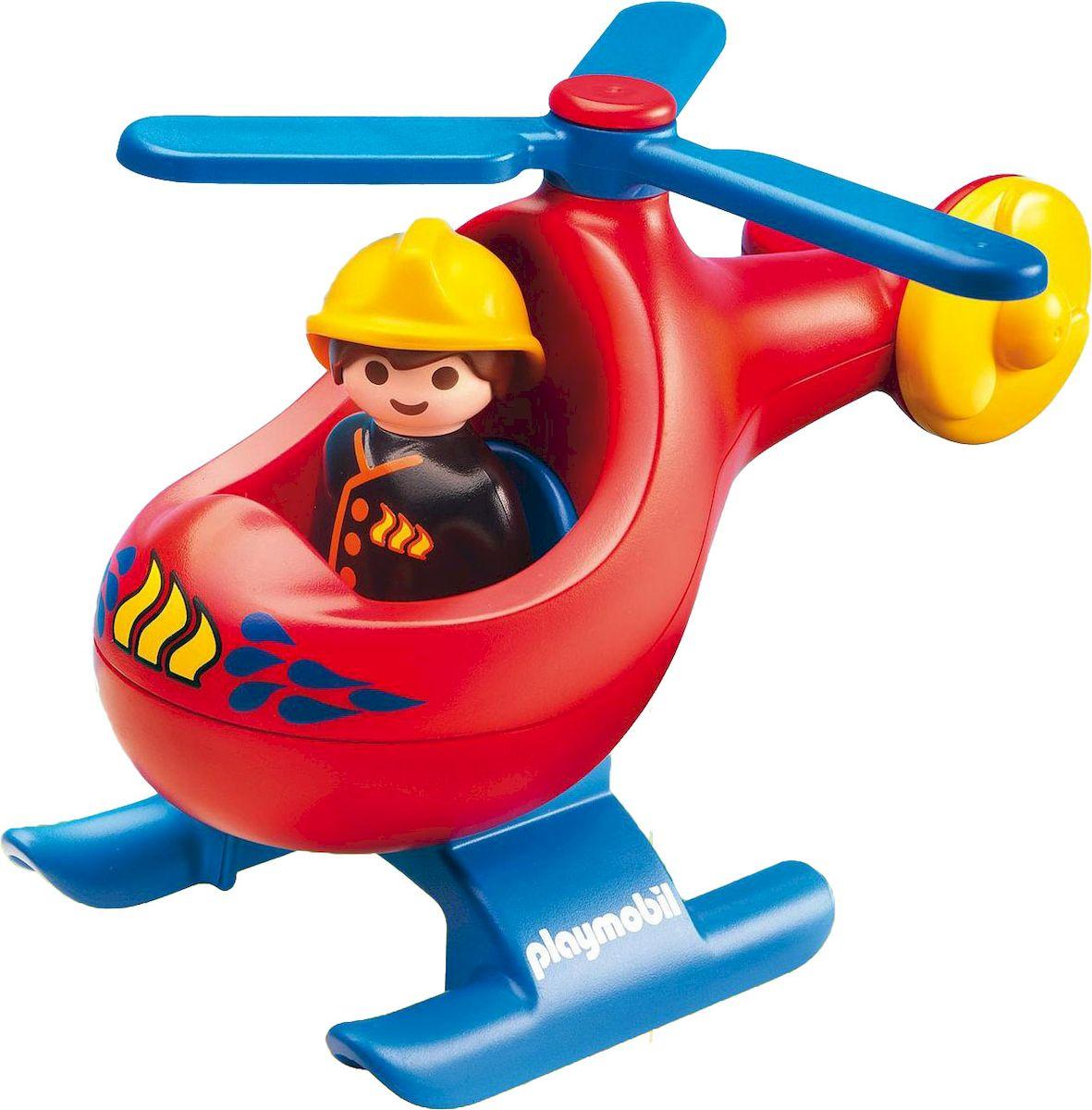 Playmobil Игровой набор Вертолет для пожаротушения playmobil игровой набор африка газели