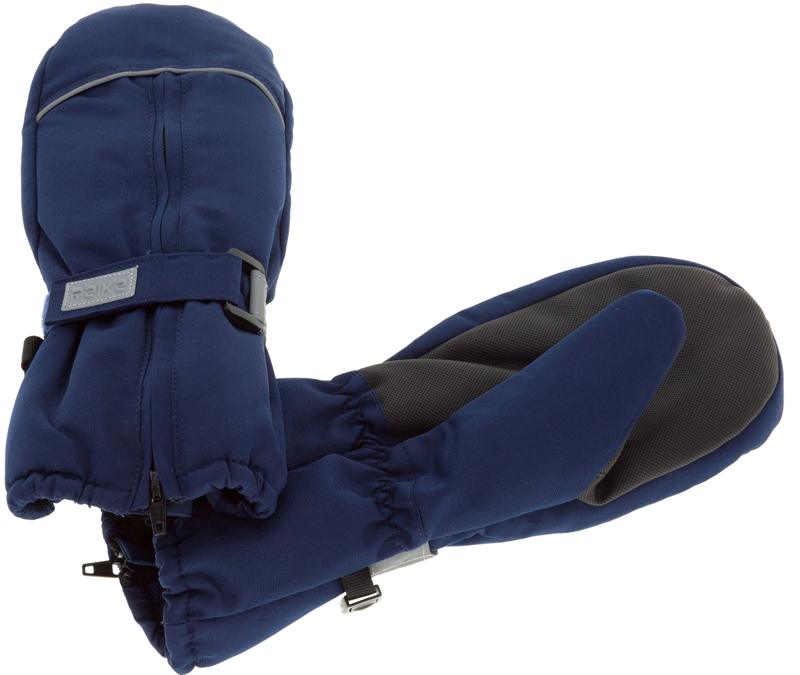 Варежки для мальчиков Reike, цвет: темно-синий. RW18_bs navy. Размер 3RW18_bs navy