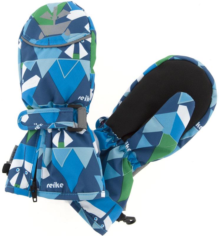 Варежки для мальчиков Reike, цвет: темно-синий. RW18_RCN1 navy. Размер 4RW18_RCN1 navy
