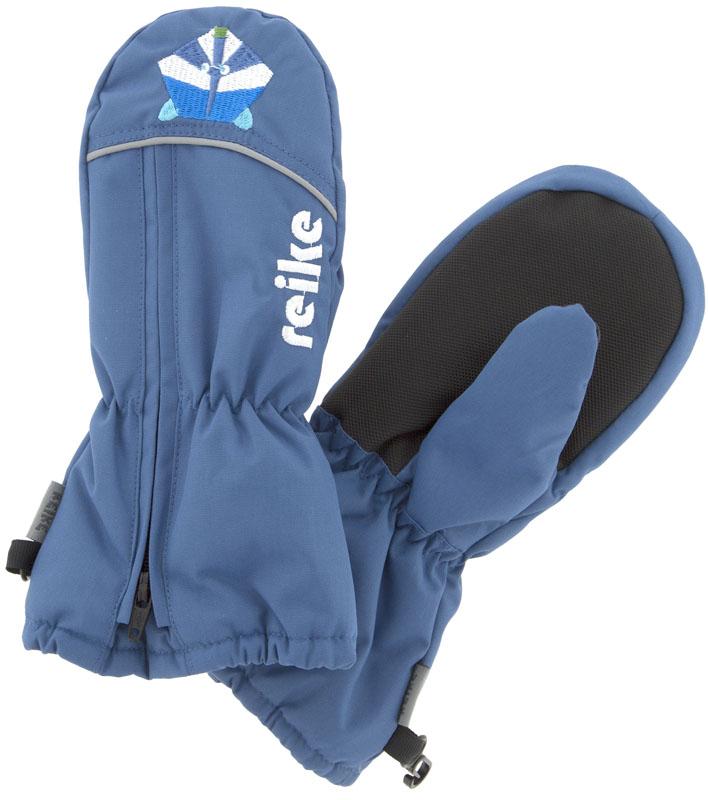 Варежки для мальчиков Reike, цвет: темно-синий. RW18_RCN2 navy. Размер 2RW18_RCN2 navy
