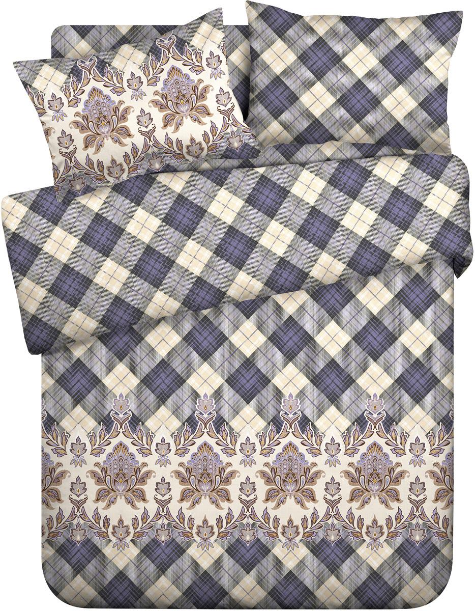 Комплект белья Wenge Gloria, 1,5-спальный, наволочки 70x70, цвет: бежевый441701