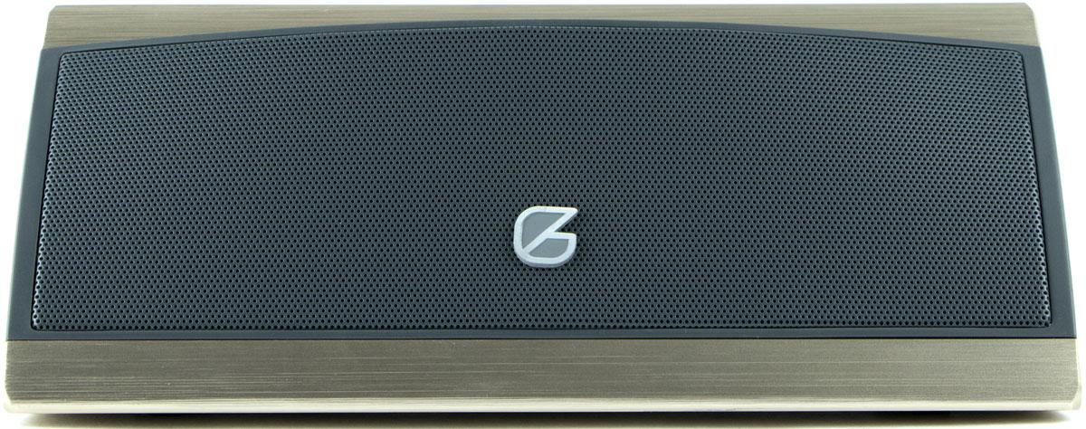 GZ Electronics LoftSound GZ-66, Gold портативная акустическая системаGZ-66(GD)Bluetooth-колонка GZ Electronics LoftSound GZ-66 имеет насыщенное естественное звучание с гораздо более глубоким басом, чем можно ожидать от ультракомпактной системы.Беспроводное Bluetooth-подключение к смартфону, планшету или другому Bluetooth-устройству с дистанцией до 10 м подарит свободу слушать любимые композиции в любом месте, в любое время.8 - 10 часов работы non-stop обеспечит встроенный литиевый аккумулятор емкостью 2200 мАч. Как выбрать портативную колонку. Статья OZON Гид