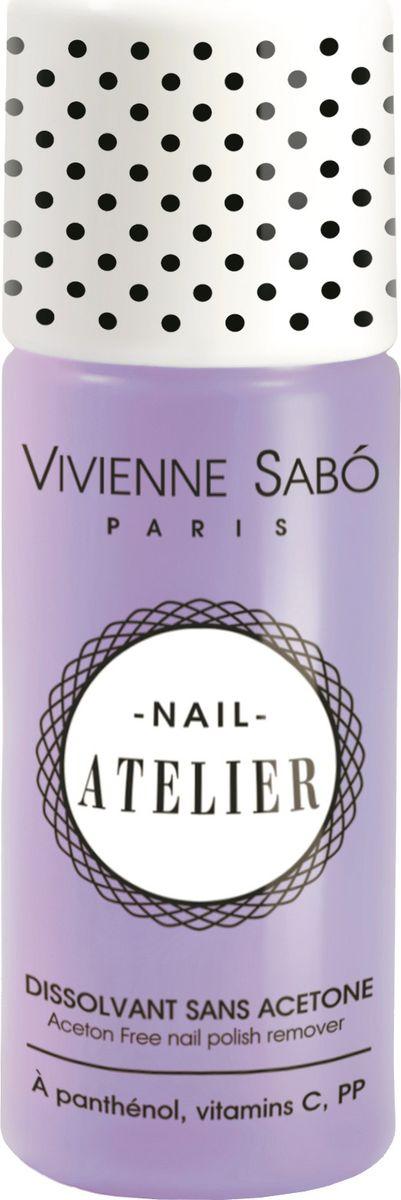 Vivienne Sabo Жидкость для снятия лака Nail Atelier без ацетона, 100 млD215010997Профессиональная экономичная упаковка. Без ацетона. Содержит витамины А,С,Е, которые ухаживают за ногтями.