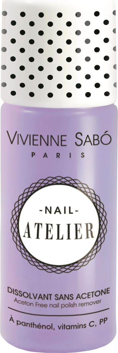 Vivienne Sabo Жидкость для снятия лака Nail Atelier без ацетона, 100 мл vivienne sabo vi054lwseq91 vivienne sabo