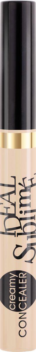 Vivienne Sabo Консилер Ideal Sublime, тон 03, 6 млD215218403Лёгкая кремовая текстура с деликатным сиянием ложится тонким слоем, скрывая потемнения в области вокруг глаз, моментально преображая внешность, придает лицу свежий и отдохнувший вид. Удобный фетровый аппликатор позволит дозированно, без излишков, наносить текстуру и корректировать не только область вокруг глаз, но и другие участки лица.
