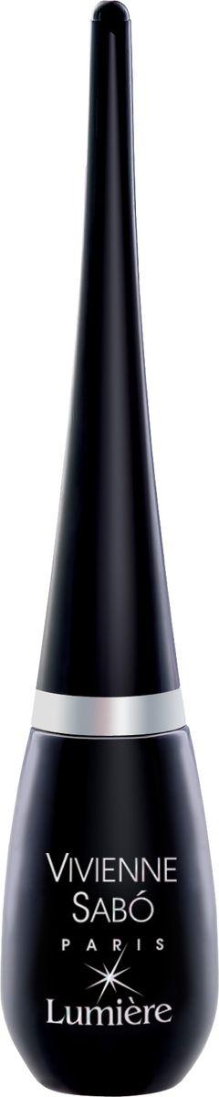 Vivienne Sabo Подводка для глаз Lumiere жидкая, тон 02, 6 мл подводка для глаз водостойкая vivienne sabo waterproof liquid eyeliner