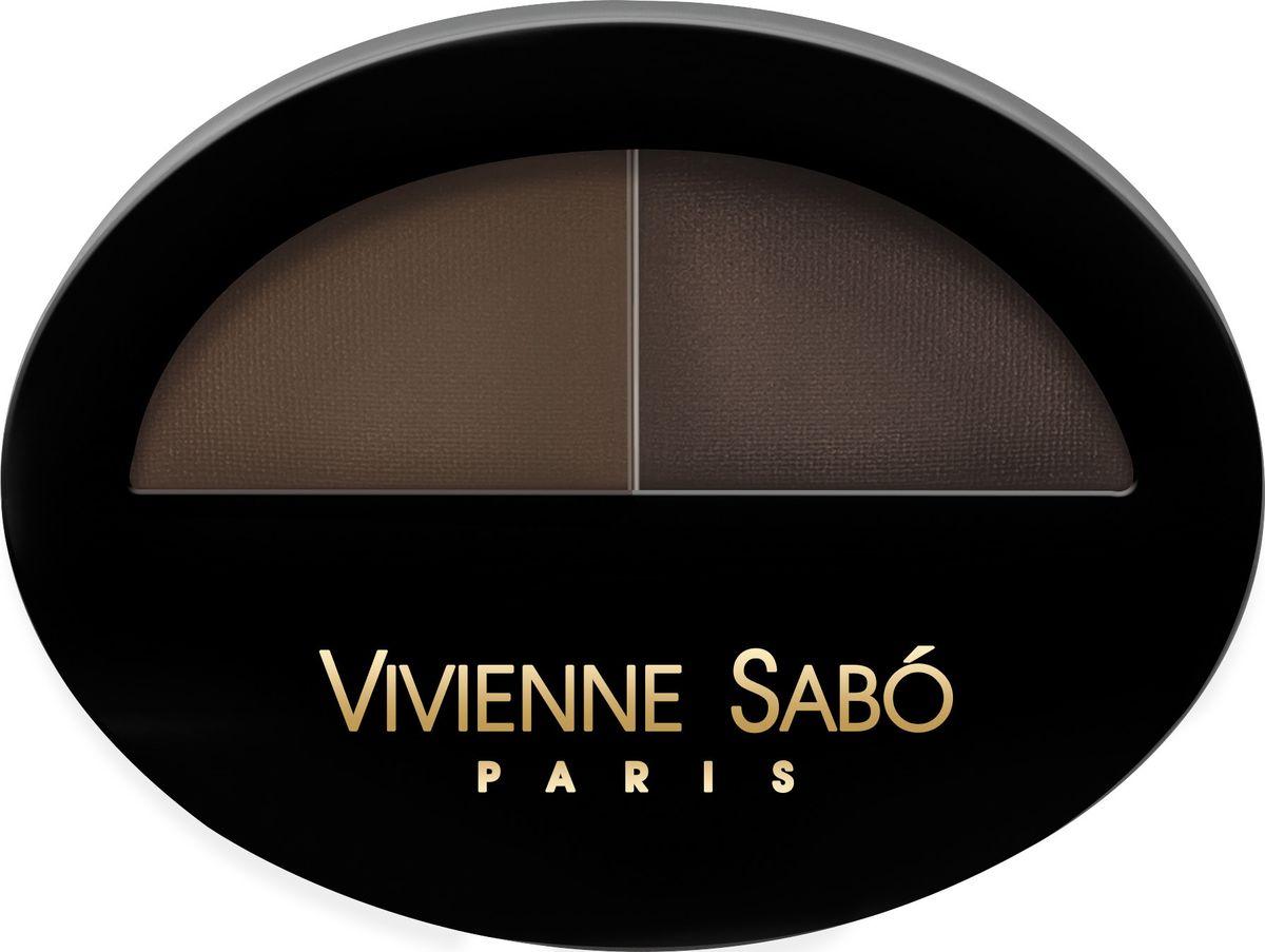 Vivienne Sabo Тени для бровей Brow Arcade тон 02, 1,6 гd215225502Деликатные пудровые тени для бровей быстро и без усилий создадут новый образ и акцентируют лучшие черты! С ними все возможно: модные широкие брови, элегантные или аристократичные – выбирайте! Нежная текстура великолепно фиксируется в волосках бровей, придавая им нужный цвет и форму. Цвета можно индивидуально комбинировать, достигая нужной интенсивности и получения идеального подходящего именно Вам цвета. Изюминка теней Brow Arcade для Вас: тени Brow Arcade можно использовать для макияжа глаз в стиле nude. Удобная скошенная кисть для оформления бровей.Как создать идеальные брови: пошаговая инструкция. Статья OZON Гид