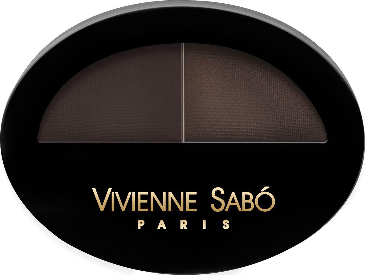Vivienne Sabo Тени для бровей Brow Arcade тон 03, 1,6 г