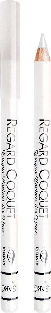 Vivienne Sabo Карандаш для глаз Regard Coquet, тон 310, 1,4 гD215229310Карандаши для глаз - классический вариант для ежедневного макияжа. Мягкая текстура позволяет нежно очертить контур глаза. Идеальный вариант для начинающих. Линия карандаша легко корректируется и растушевывается. Им одинаково удобно делать как макияж smoky-eyes, так и кокетливые стрелки. Матовая фактура карандаша создает глубокий цвет. Изюминка карандаша Regard Coquet для Вас: карандаш легко наносится, нежно скользит по веку, благодаря обогащенной восками формуле. Деревянный корпус.