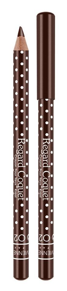 Vivienne Sabo Карандаш-каял для глаз Regard Coquet, тон 02 коричневый, 0,8 гD215229602Карандаши-каялы Regard Coquet из коллекции могут служить прекрасным дополнением макияжу коллекции, а так же выступить соло. Великолепная бархатная текстура карандаша позволяет создать идеальную линию, как по ресничному контуру, так и по внутреннему краю века. Корпус карандаша одет в классический принт Vivienne Sabo - милый кокетливый горошек, что добавляет коллекции лёгкости и элегантности. Карнаубский и Канделильский воски - обеспечивает пластичность текстуры, легкость скольжения, придает пластичность и стойкость текстуре. Состав содержит активные антиоксиданты - витамины А и Е. Тона – светлые и темные – помогут правильно расставить акценты в выбранном образе.