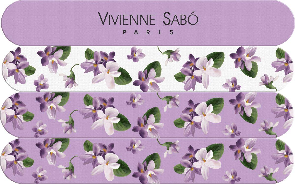 Vivienne Sabo Набор пилочек для ногтей 4 шт пилки для ногтей континент красоты набор пилочек для ногтей 4 4 шт