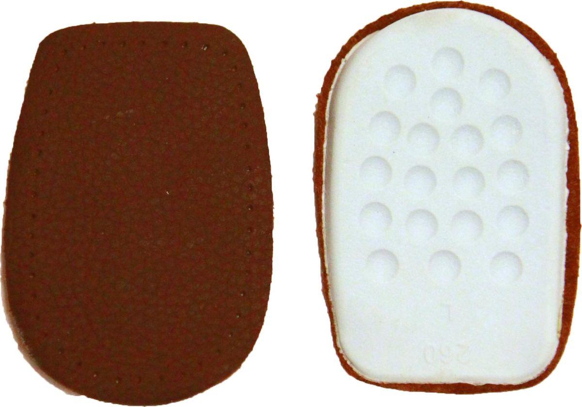 Подпяточник Практика Здоровья, цвет: коричневый, черный. ПК1. Размер универсальныйПК1Уменьшают ударную нагрузку на пяточную часть стопы и нагрузку на позвоночник.Снижают болевые ощущения в пятке при ходьбе