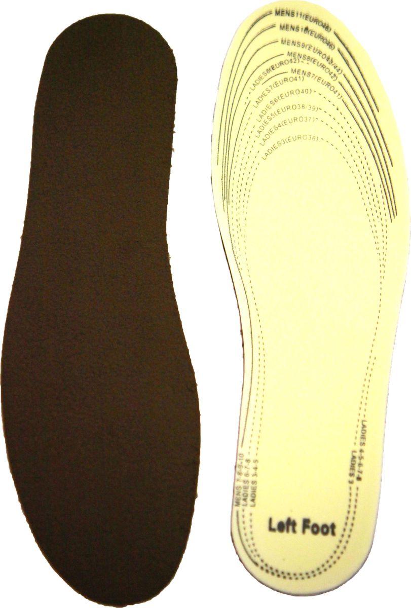 Стельки для обуви Практика Здоровья, цвет: коричневый. СМ2. Размер универсальныйСМ2Подходят для автомобилистов, которые не носят обувь с мехом.Теплоизолирующая флисовая ткань и латекс с активированным углем.Флисовая ткань прекрасно удерживает тепло, активированный уголь эффективно поглощает запах, эластичный латекс гарантирует мягкость и удобство во время ходьбы, а также дополнительную теплоизоляцию.