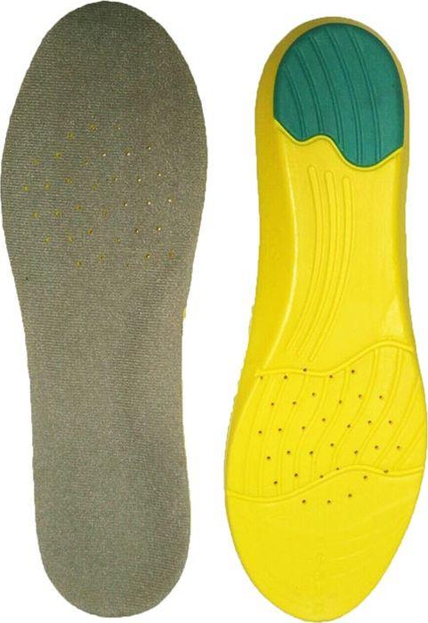 Стельки для обуви мужские Практика Здоровья, цвет: серый. СТ18. Размер универсальныйСТ18Мягкие амортизирующие стельки с эффектом памяти. Перфорация обеспечивает циркуляцию воздуха.