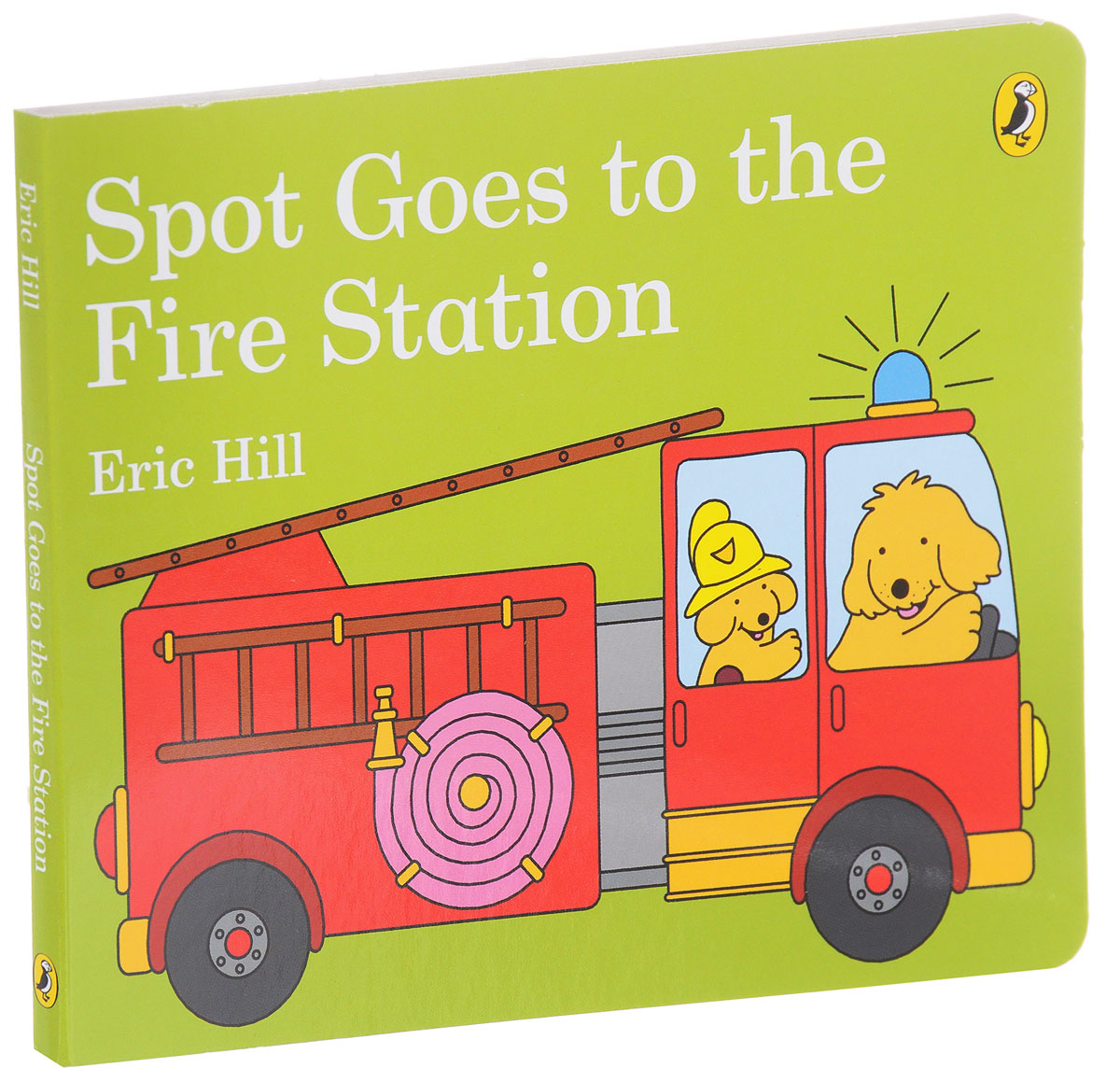 Spot Goes to the Fire Station ghost at the fire station 6