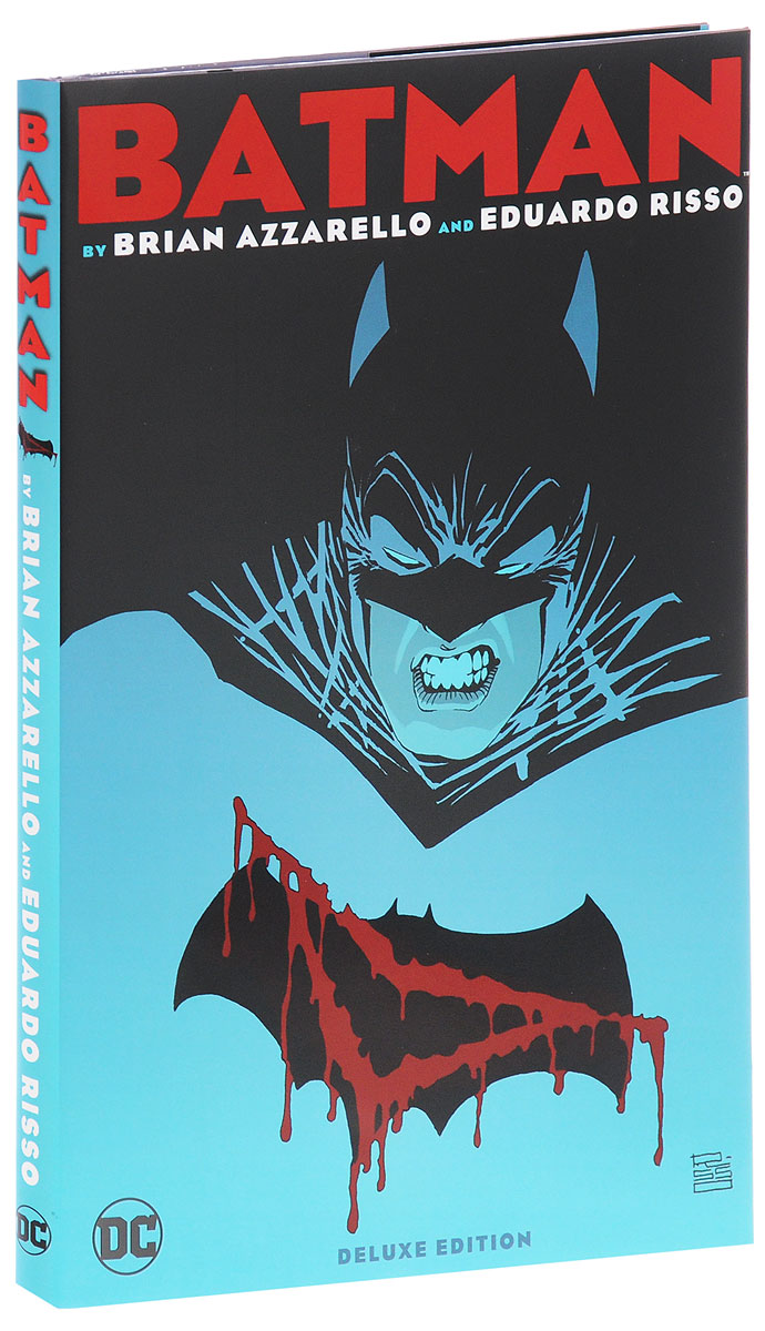 Batman by Brian Azzarello and Eduardo Risso: The Deluxe Edition batman incorporated volume 1 deluxe