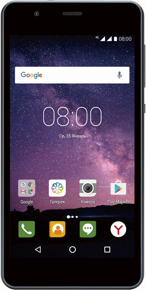 Philips S318, Dark Grey смартфон philips s318 dark grey