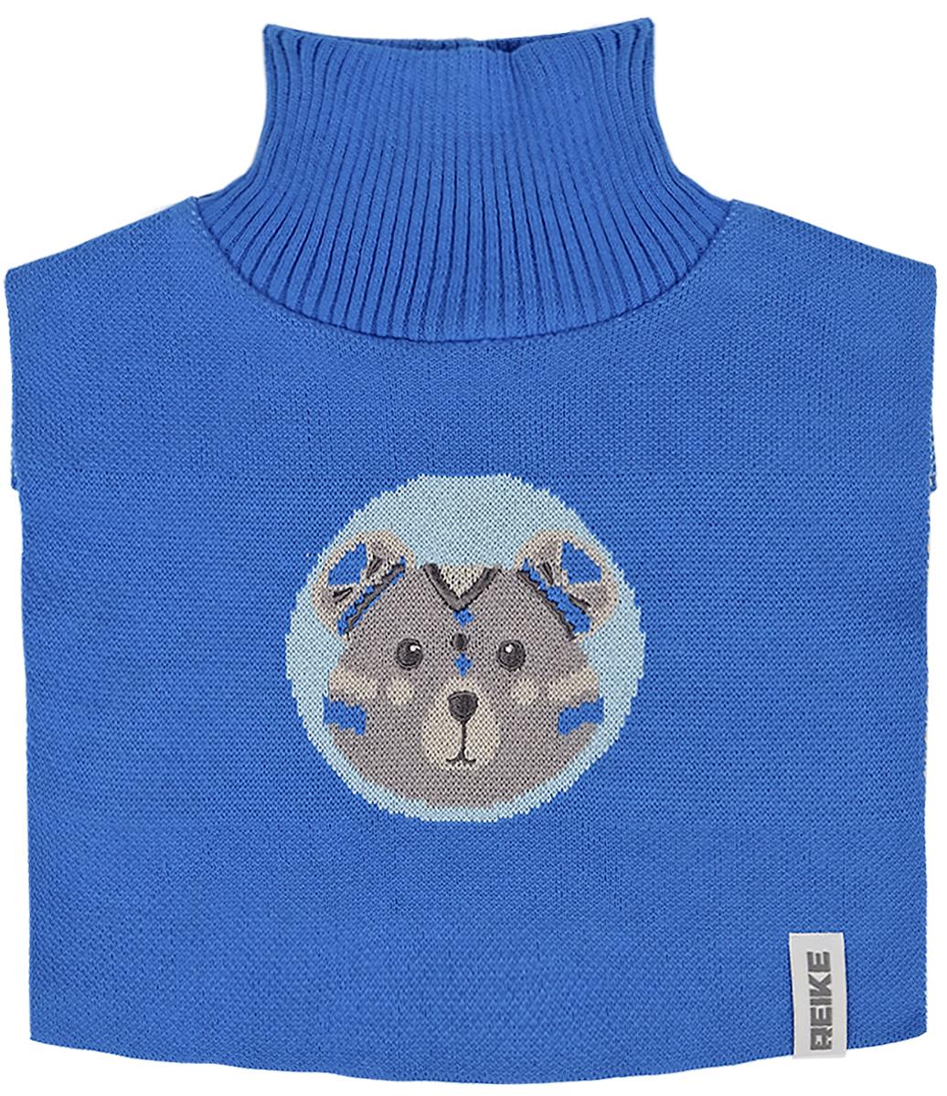 Манишка для мальчиков Reike, цвет: синий. RDC1718_IFC blue. Размер универсальныйRDC1718_IFC blueМанишка Reike благодаря плотной вязке защитит шею и грудь ребенка от ветра и холода. Удобно надевается под верхнюю одежду.