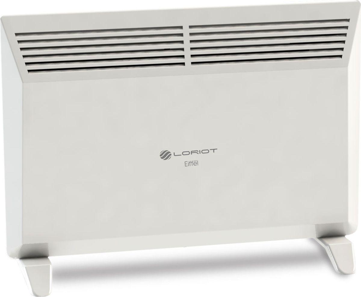 Loriot Eiffel LHCI-1500 M конвекторLHCI-1500 MLoriot Eiffel LHCI-1500 M - это европейский дизайн, простая установка, моментальный нагрев, крепления для пола и для настенной установки в комплекте, легкое управление и стабильно высокое качество исполнения.Основным преимуществом использования конвекторов Loriot является экономичное потребление электроэнергии, что позволяет значительно снизить затраты по отоплению помещений в сравнении с иными электрическими конвекторами и обогревателями.Отличительные особенности:-Механическое управление -Защита от перегрева -Отключение при опрокидовании-Терморегулятор-Длина кабеля 1.2 метра-Класс электрозащиты I-Степень защищенности от пыли/влаги – IP 24-Нагревательный элемент СТИЧ-Простота монтажа (настенная/напольная установка)-Опоры в комплекте-Ударопрочный корпус-Привлекательный индивидуальный дизайнКак выбрать обогреватель. Статья OZON Гид