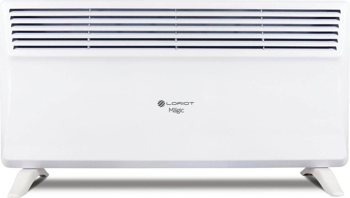 Loriot Magic LHCY-2000 конвекторLHCY-2000Основным преимуществом использования конвекторов Loriot является экономичное потребление электроэнергии, что позволяет значительно снизить затраты по отоплению помещений в сравнении с иными электрическими конвекторами и обогревателями.