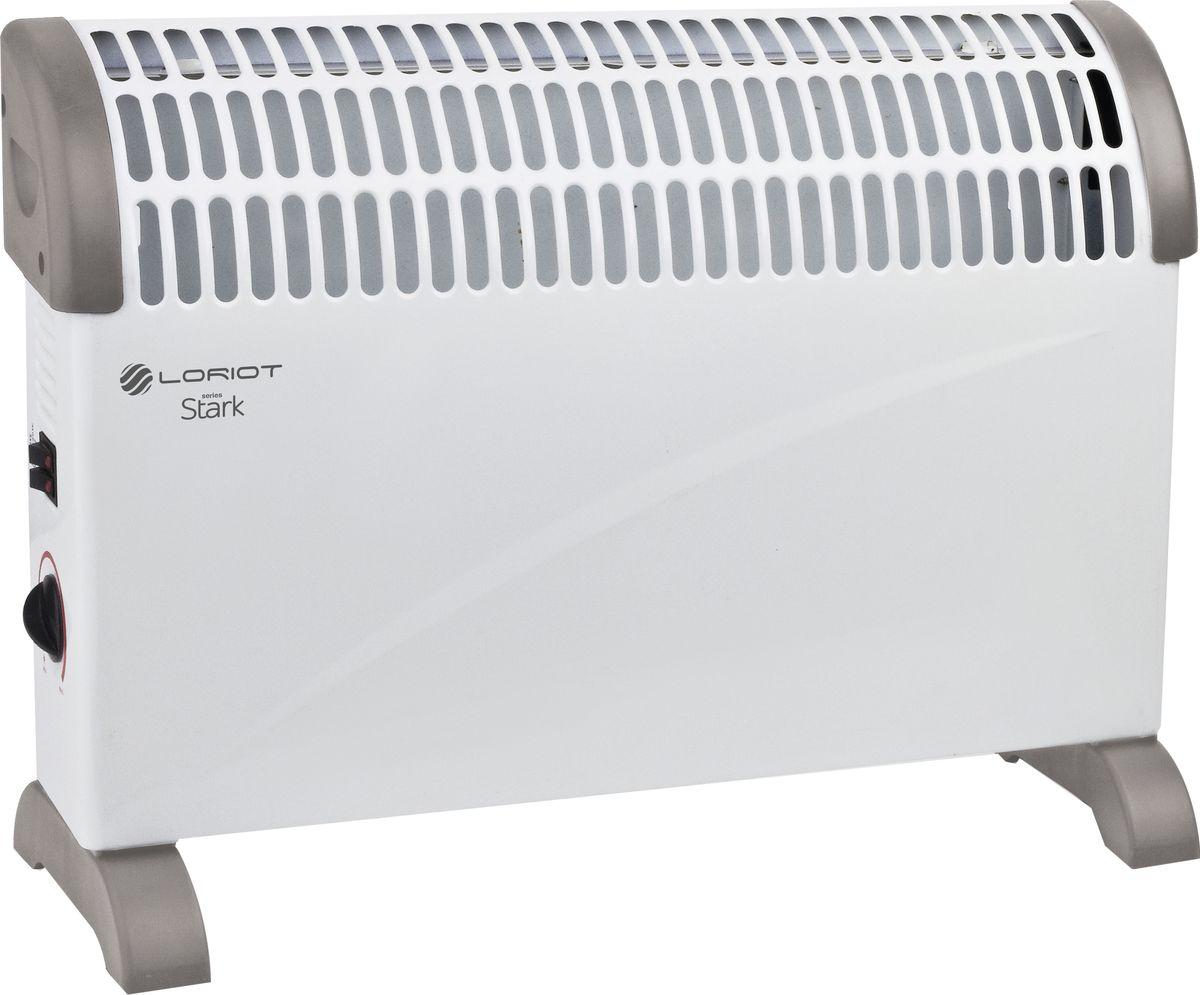 Loriot Stark LHP-M 2000 конвекторLHP-M 2000Европейский дизайн, простая установка, моментальный нагрев, крепления для пола и для настенной установки в комплекте, легкое управление и стабильно высокое качество исполнения - все это конвектор Loriot Stark LHP-M 2000.Основным преимуществом использования конвекторов Loriot является экономичное потребление электроэнергии, что позволяет значительно снизить затраты по отоплению помещений в сравнении с иными электрическими конвекторами и обогревателями.Как выбрать обогреватель. Статья OZON Гид