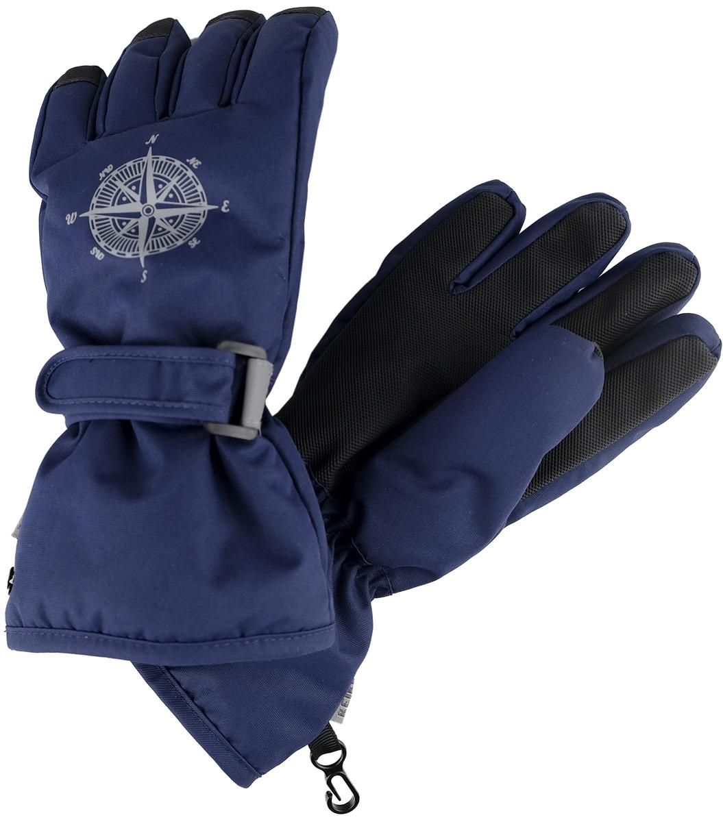 Перчатки для мальчика Reike, цвет: темно-синий. RW18_MP navy. Размер 9 перчатки reike