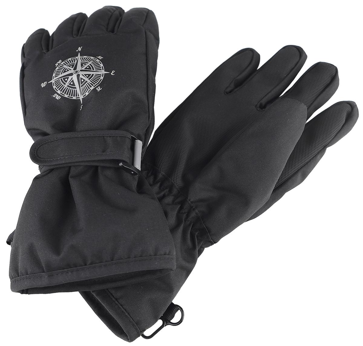 Перчатки для мальчика Reike, цвет: черный. RW18_MP black. Размер 9 перчатки reike