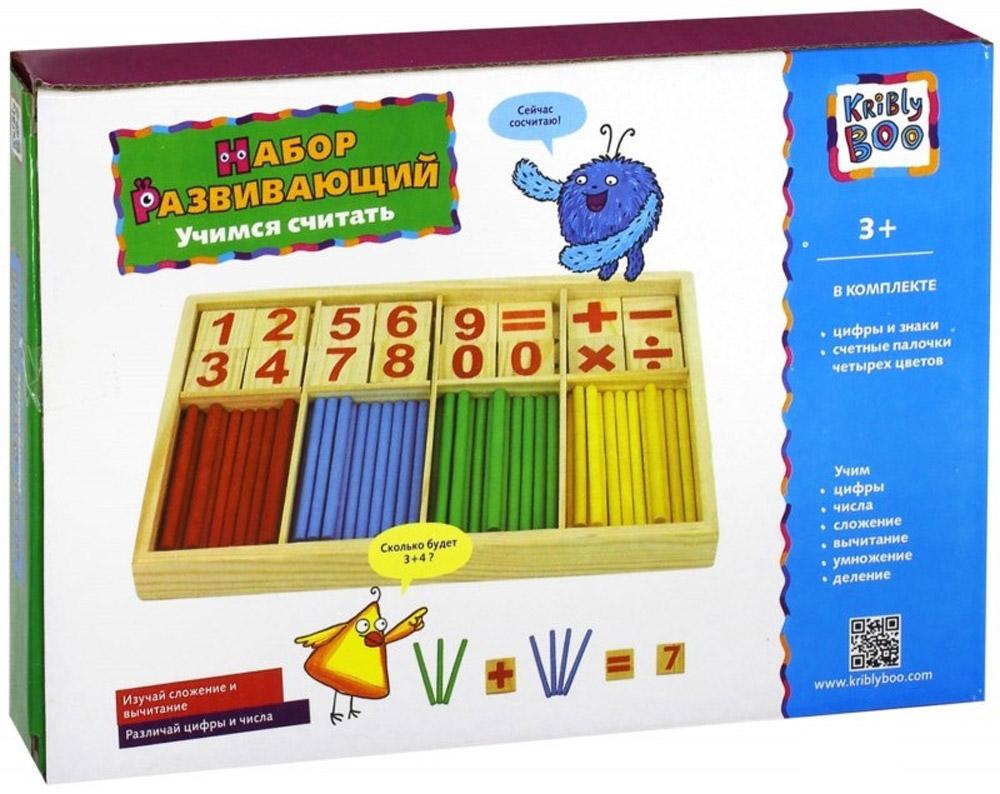 Kribly Boo Обучающая игра Учимся считать -