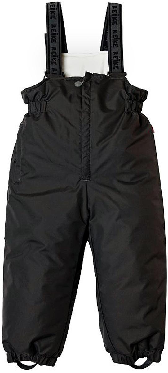 Полукомбенизон детский Reike, цвет: черный. 39925200_black. Размер 9839925200_blackКоэффициент воздухопроницаемости 2000гр/м2/24 ч. Водоотталкивающее покрытие: 2000 мм.